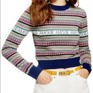 Topshop Amour sweater